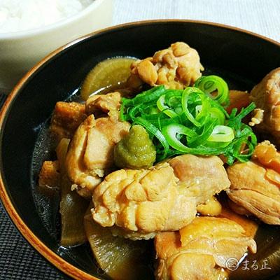 鶏もも肉と大根の煮こみ