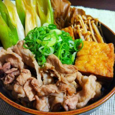 コラーゲン肉豆腐 豚足を煮た残り汁で
