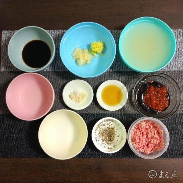 麻婆豆腐で使用する調味料