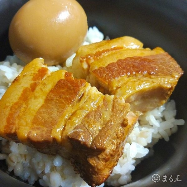 豚の角煮 on The Rice