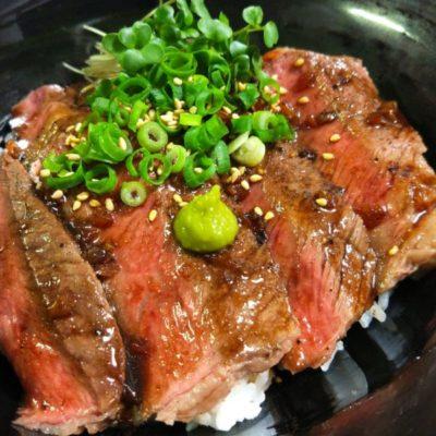 写真:ステーキ丼