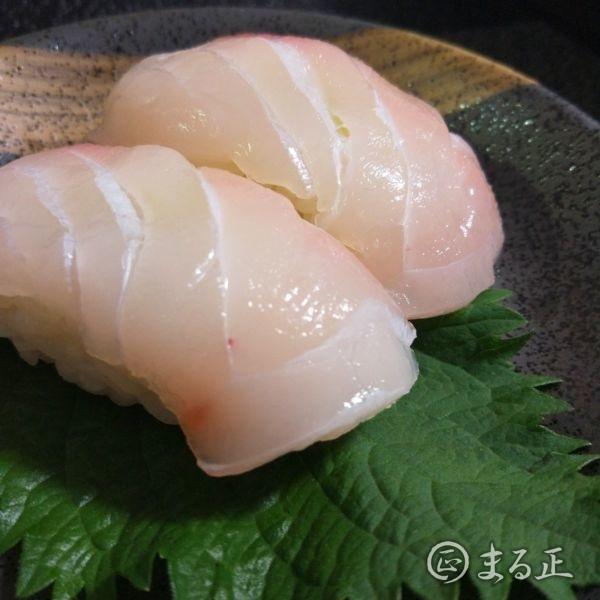 写真:真鯛のお寿司(手作り)