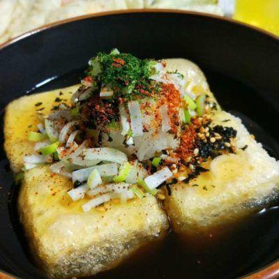 写真:揚げ出し豆腐