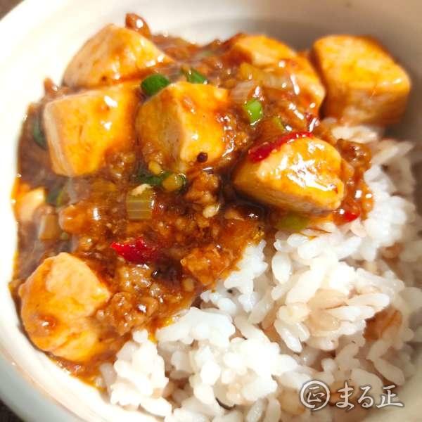 写真:麻婆豆腐とご飯の相性は抜群