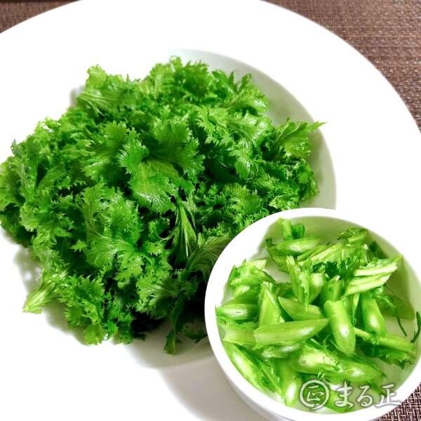 写真:ワサビ菜