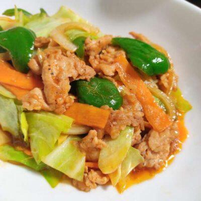 ご飯がすすむ野菜炒め