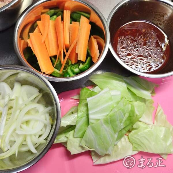 ご飯がすすむ野菜炒めの材料