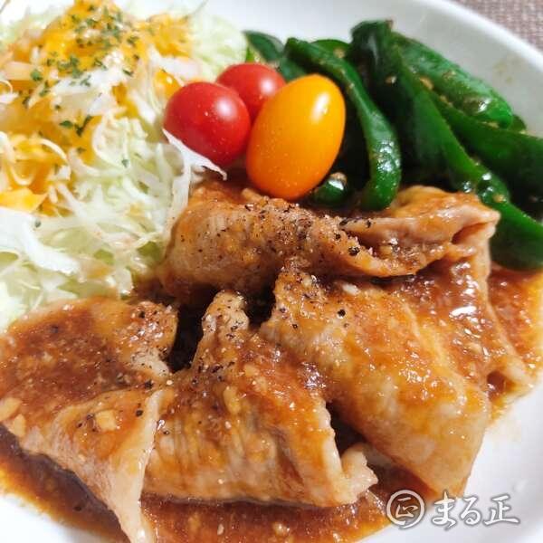 簡単レシピの豚の生姜焼き